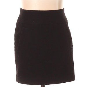 [a30-14] H&M | black wool skirt